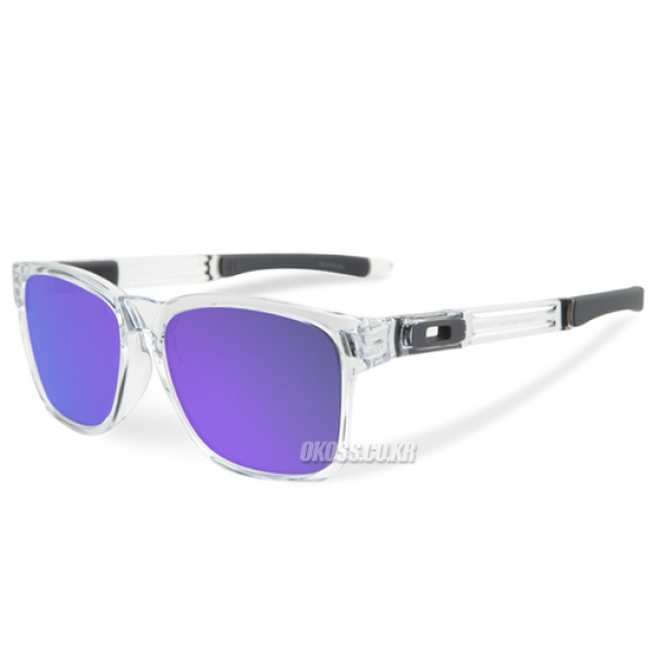 오클리 선글라스 카탈리스트 아시안핏 OO9272-05 OAKLEY ASIAN CATALYST POLISHED CLEAR/VIOLET IRIDIUM