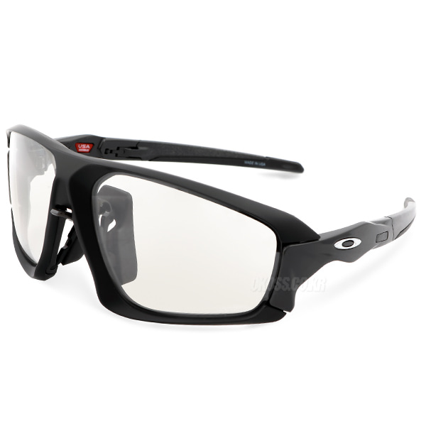 오클리 선글라스 필드 자켓 변색 OO9402-0664 OO9402-06 OAKLEY FIELD JACKET MATTE BLACK/CLEAR BLACK IRIDIUM PHOTOCHROMIC ACT