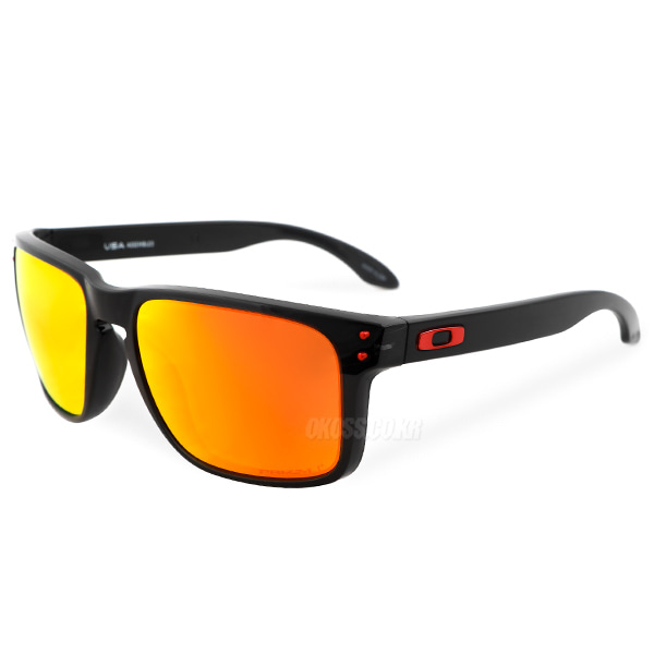 오클리 선글라스 홀브룩 XL 프리즘 편광 OO9417-0859 OO9417-08 OAKLEY HOLBROOK XL BLACK INK/PRIZM RUBY POLARIZED