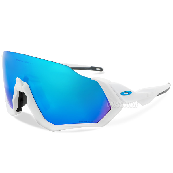 오클리 선글라스 플라이트 자켓 프리즘 OO9401-0237 OO9401-02 OAKLEY FLIGHT JACKET POLISHED WHITE/PRIZM SAPPHIRE