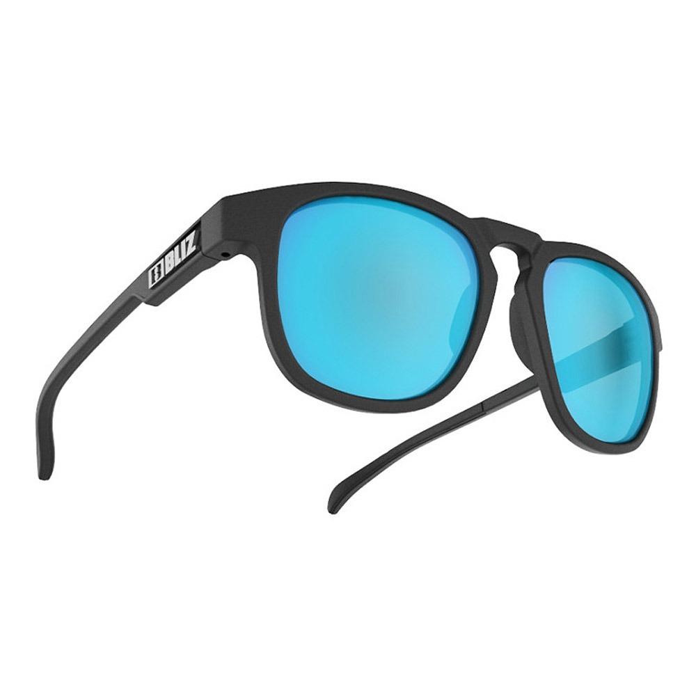 블리츠 선글라스 에이스 BLIZ ACE_MATT BLACK/SMOKE W BLUE MULTI_54907-13