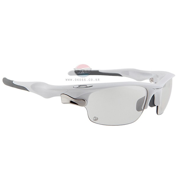 오클리 선글라스 패스트자켓 아시안핏 변색렌즈 OO9162-09_OAKLEY ASIAN FAST JACKET TRANSITIONS SOLFX POLISHED WHT/CLEAR BLK IRIDIUM PHOTOCHROMIC