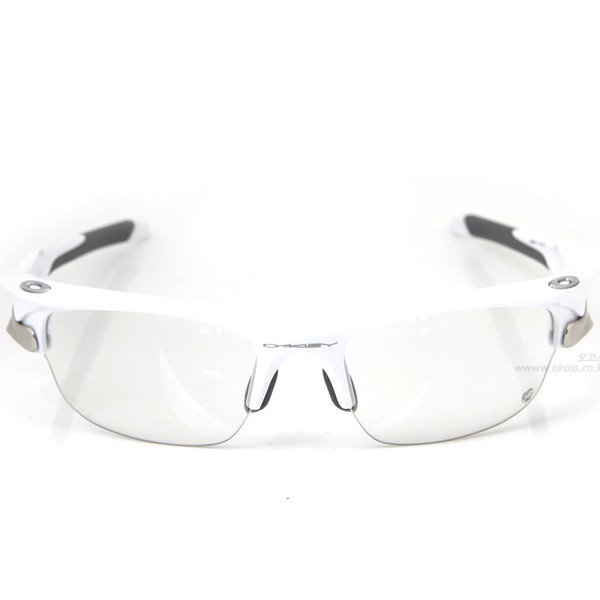오클리 선글라스 패스트자켓 변색렌즈 OO9097-09_OAKLEY FAST JACKET TRANSITIONS SOLFX POLISHED WHT/CLEAR BLK IRIDIUM PHOTOCHROMIC