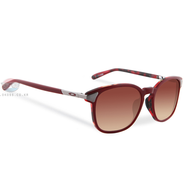 오클리 선글라스 링거 OO2047-06 OAKLEY RINGER RED MOSAIC/DARK BROWN GRADIENT