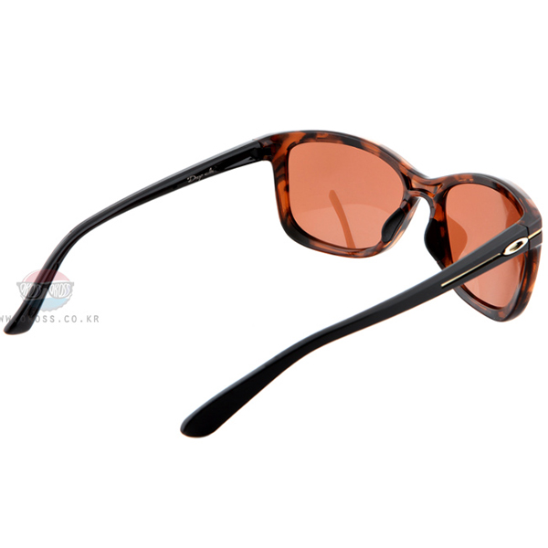 오클리 선글라스 드랍인 OO9232-04_OAKLEY DROP IN TORTOISE/VR28 BLACK IRIDIUM