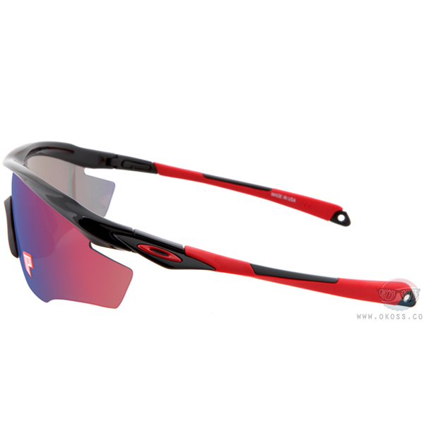 오클리 선글라스 엠투 프레임 편광렌즈 OO9212-06 _ OAKLEY POLARIZED M2 FRAME POLISHED BLK/OO RED IRIDIUM POLARIZED