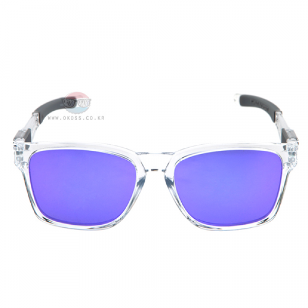 오클리 선글라스 카탈리스트 아시안핏 OO9272-05 OO9272-0555 OAKLEY ASIAN CATALYST POLISHED CLEAR/VIOLET IRIDIUM