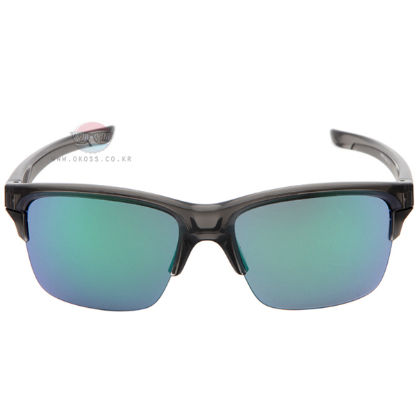 오클리 선글라스 씬링크 아시안핏 OO9317-02 OAKLEY ASIAN THINLINK GRAY SMOKE/JADE IRIDIUM