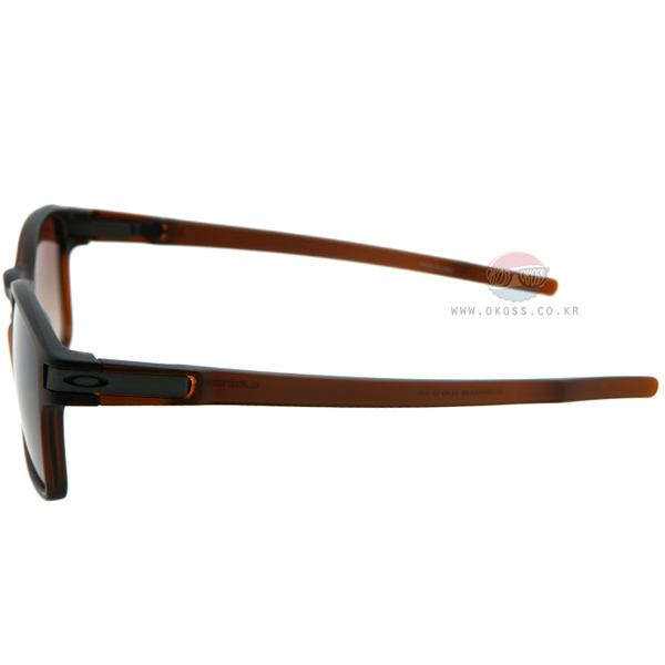 오클리 선글라스 래치 SQ OO9353-09 OAKLEY LATCH SQ MATTE DARK BROWN/DARK BROWN GRADIENT