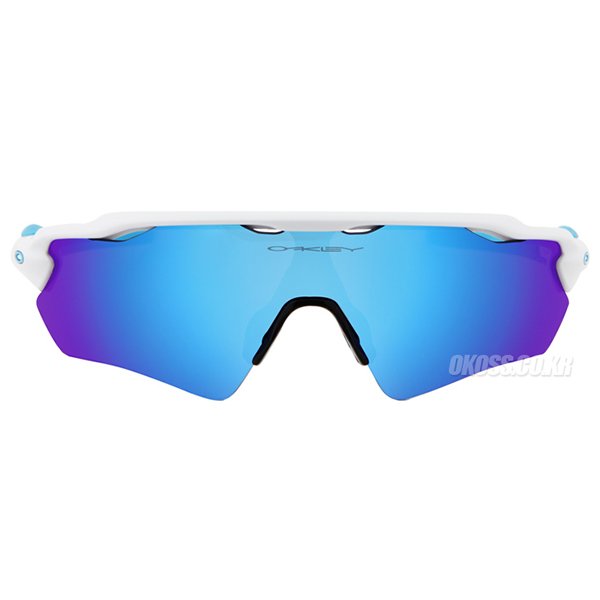 오클리 선글라스 레이다 EV XS / 어린이용 OJ9001-01 OJ9001-0131 OAKLEY RADAR EV XS POLISHED WHITE/SAPPHIRE IRIDIUM