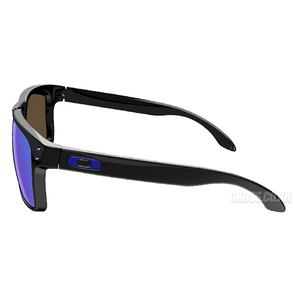 오클리 선글라스 홀브룩 편광 아시안핏 OO9244-19 OO9244-1956 OAKLEY ASIAN HOLBROOK MATTE BLACK/SAPPHIRE IRIDIUM POLARIZED