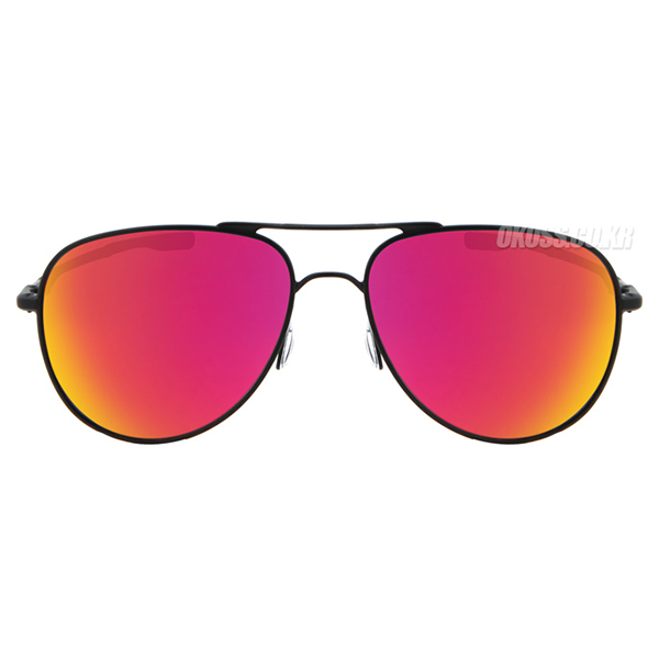오클리 선글라스 엘몬트 미디움 OO4119-04 OO4119-0458 OAKLEY ELMONT MEDIUM SATIN BLACK/RUBY IRIDIUM