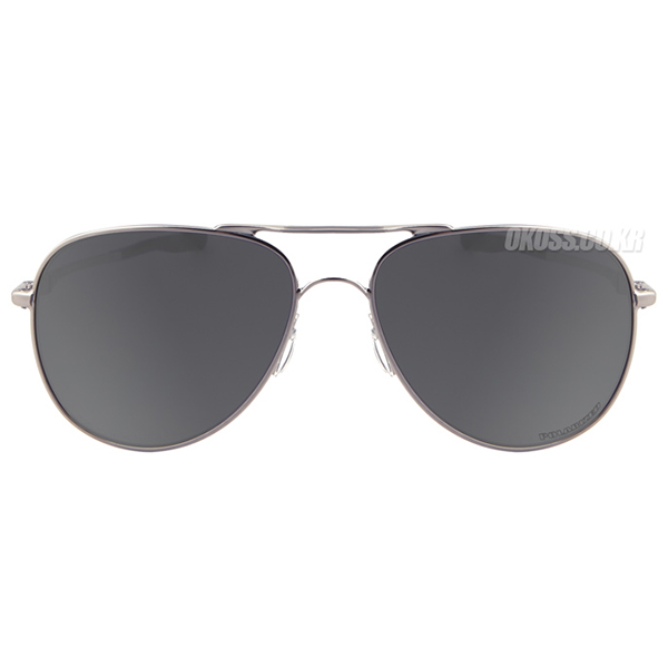 오클리 선글라스 엘몬트 미디움 편광 OO4119-06 OO4119-0658 OAKLEY ELMONT MEDIUM POLARIZED LEAD/BLACK IRIDIUM POLARIZED