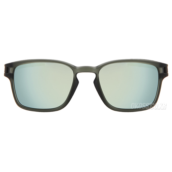 오클리 선글라스 래치 SQ OO9353-08_OAKLEY LATCH SQ MATTE OLIVE INK/EMERALD IRIDIUM