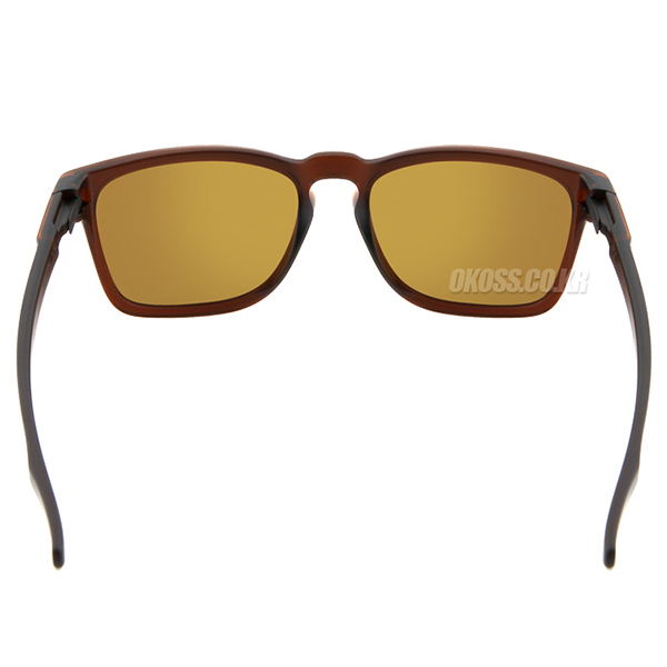 오클리 선글라스 래치 SQ 아시안핏 OO9358-05 OO9358-0555 OAKLEY ASIAN LATCH SQ MATTE ROOT BEER/24K IRIDIUM