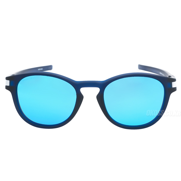 오클리 선글라스 래치 그리드 콜렉션 프리즘 아시안핏 OO9349-2553 OO9349-25 OAKLEY ASIAN LATCH GRID COLLECTION MATTE TRANS BLUE/PRIZM SAPPHIRE