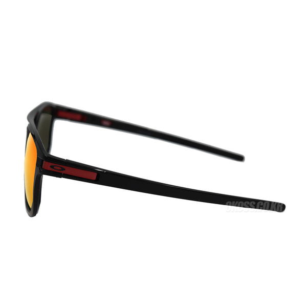 오클리 선글라스 래치 베타 프리즘 OO9436-0754 OO9436-07 OAKLEY LATCH BETA POLISHED BLACK/PRIZM RUBY