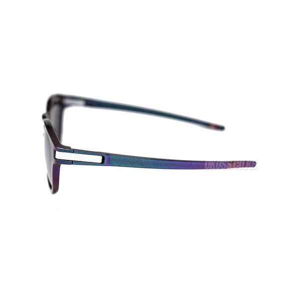 오클리 선글라스 래치 프리즘 편광 아시안핏 OO9349-2953 OO9349-29 OAKLEY ASIAN LATCH GREEN PURPLE SHIFT/PRIZM BLACK POLARIZED