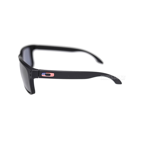 오클리 선글라스 홀브룩 플래그 콜렉션 OO9102-E655 OO9102-E6 OAKLEY HOLBROOK FLAG COLLECTION MATTE BLACK/GREY