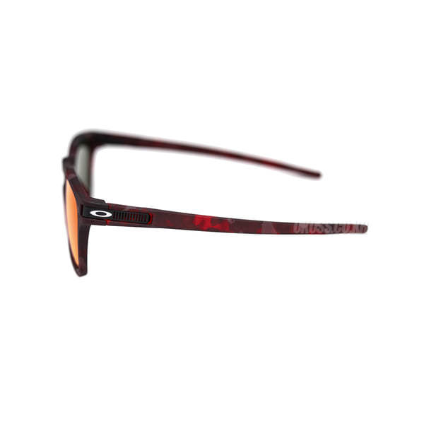 오클리 선글라스 래치 SQ 프리즘 아시안핏 OO9358-1655 OO9358-16 OAKLEY ASIAN LATCH SQ MATTE RED SHADOW/PRIZM RUBY