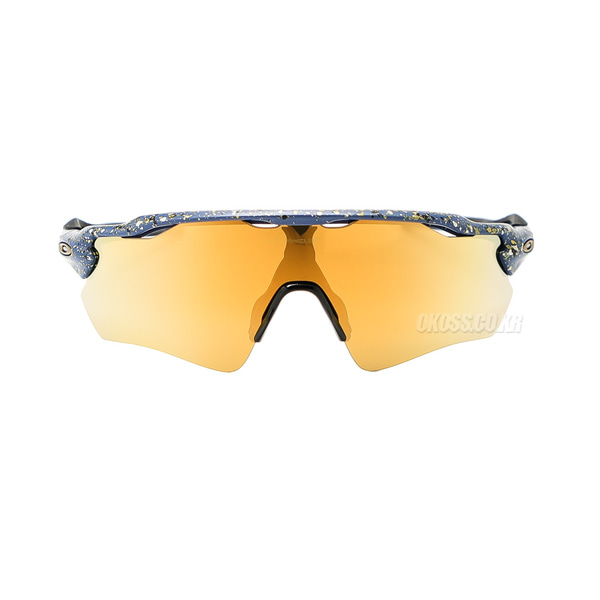 오클리 선글라스 레이다 EV 패스 OO9208-7838 OO9208-78 OAKLEY RADAR EV PATH SPLATTERFADE COLLECTION SPLATTER POSEIDON/24K IRIDIUM