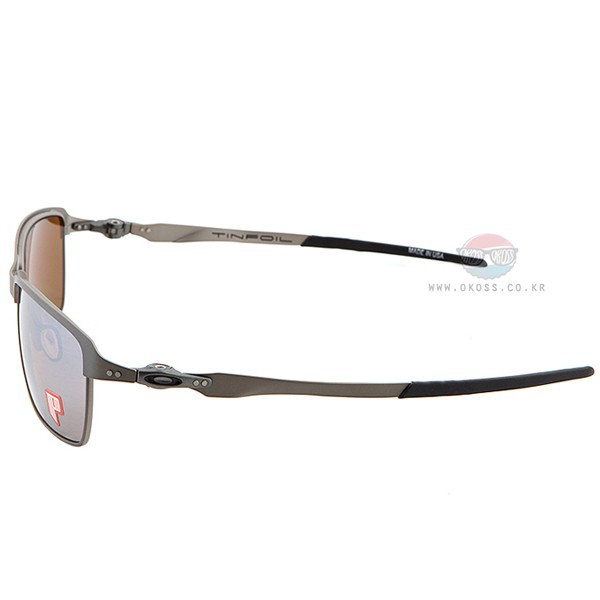 오클리 선글라스 틴포일 편광 OO4083-07 OAKLEY POLARIZED TINFOIL CARBON/TITANIUM IRIDIUM POLARIZED