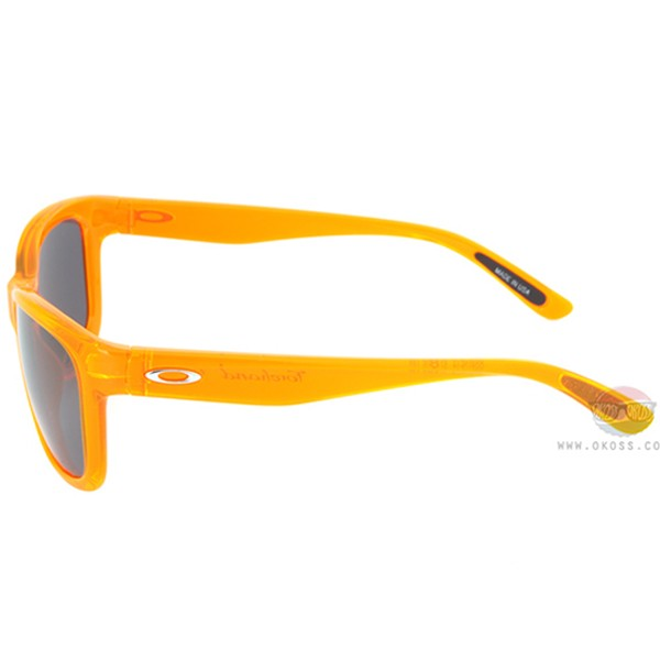 오클리 선글라스 포핸드 OO9179-14_OAKLEY FOREHAND NEON ORANGE/BLK IRIDIUM