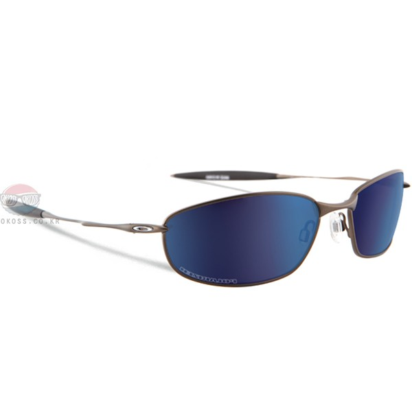 오클리 선글라스 위스커 편광렌즈 26-234 OAKLEY POLARIZED WHISKER PEWTER/ICE IRIDIUM POLARIZED