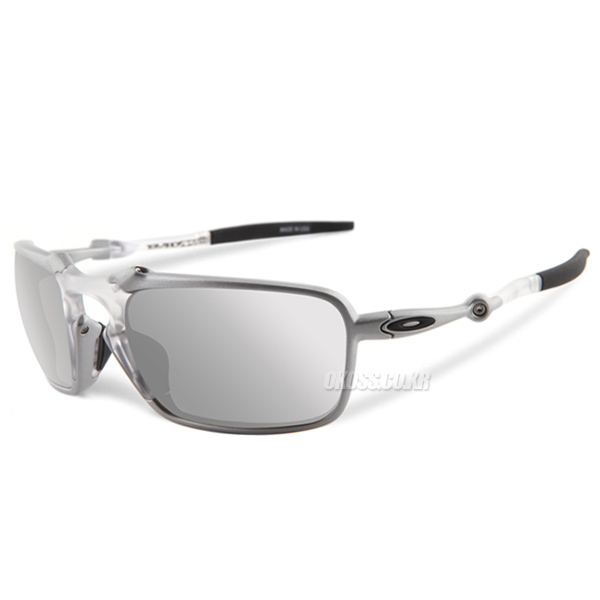 오클리 선글라스 배드맨 엑스메탈 편광렌즈 OO6020-05 OAKLEY POLARIZED BADMAN X TITANIUM/CHROME IRIDIUM POLARIZED