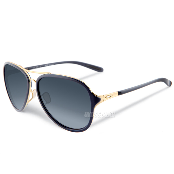 오클리 선글라스 킥백 OO4102-03 OAKLEY KICKBACK GOLD SATIN/BLACK GRAY GRADIENT