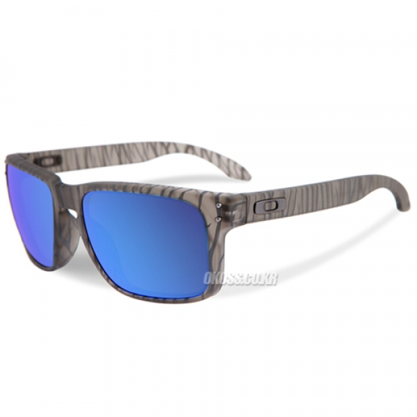 오클리 선글라스 홀브룩 얼반 정글 스페셜 OO9102-A1 OO9102-A155 OAKLEY URBAN JUNGLE COLLECTION HOLBROOK MATTE GREY/SAPPHIRE IRIDIUM