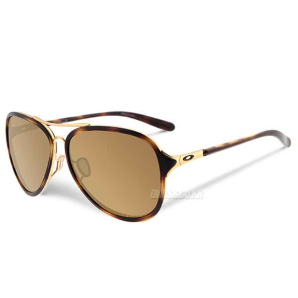 오클리 선글라스 킥백 편광렌즈 OO4102-02 OAKLEY KICK BACK GOLD SATIN/BRONZE POLARIZED