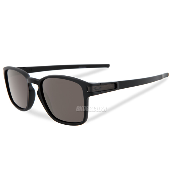 오클리 선글라스 래치 SQ OO9353-01 OAKLEY LATCH SQ MATTE BLACK/WARM GRAY