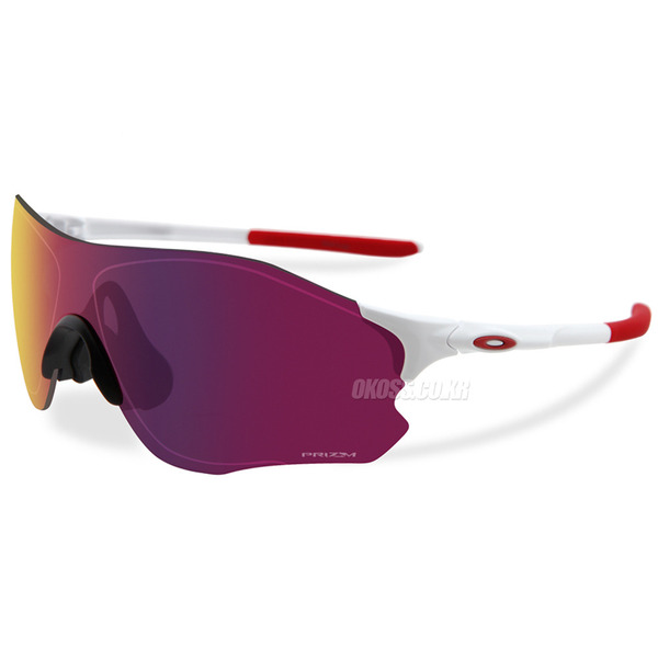 오클리 선글라스 EV제로 패스 프리즘 아시안핏 OO9313-04 OO9313-0438 OAKLEY ASIAN PRIZM EVZERO PATH POLISHED WHITE/PRIZM ROAD