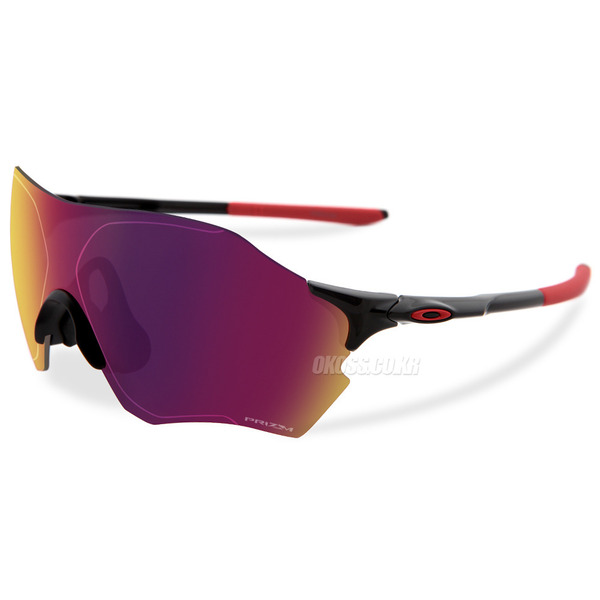 오클리 선글라스 EV 제로 레인지 프리즘 아시안핏 OO9337-02 OO9337-02 OAKLEY ASIAN PRIZM EVZERO RANGE POLISHED BLACK/PRIZM ROAD