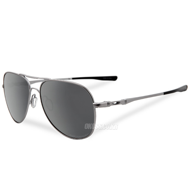 오클리 선글라스 엘몬트 라지 편광 OO4119-06 OO4119-0660 OAKLEY ELMONT LARGE POLARIZED LEAD/BLACK IRIDIUM POLARIZED