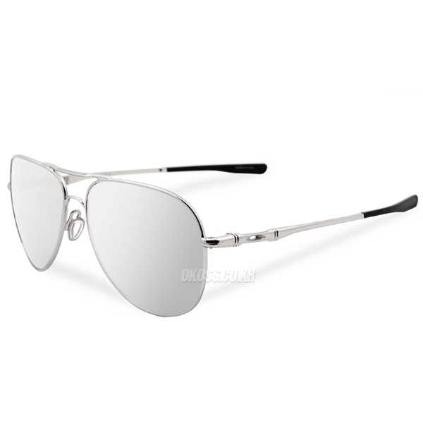 오클리 선글라스 엘몬트 라지 OO4119-08 OO4119-0860 OAKLEY ELMONT LARGE CHROME/CHROME IRIDIUM