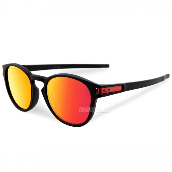 오클리 선글라스 래치 프리즘 OO9265-2953 OO9265-29 OAKLEY LATCH MATTE BLACK/PRIZM RUBY