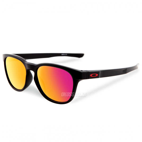 오클리 선글라스 스트링거 OO9315-09 OO9315-0955 OAKLEY STRINGER MATTE BLACK/RUBY IRIDIUM