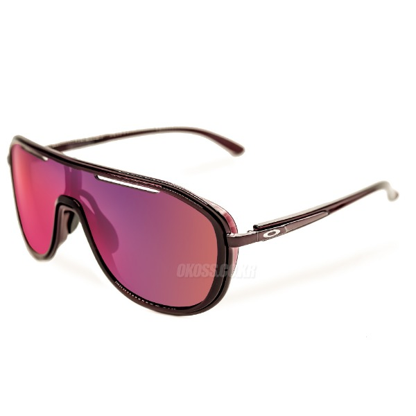 오클리 선글라스 아웃페이스 프리즘 OO4133-0526 OO4133-05 OAKLEY OUTPACE CRYSTAL RASPBERRY/PRIZM ROAD