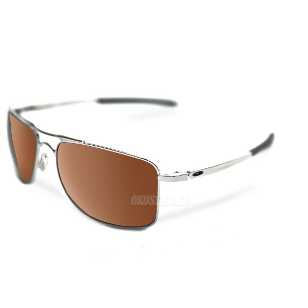 오클리 선글라스 게이지 8 프리즘 편광 OO4124-0962 OO4124-09 OAKLEY GAUGE 8 POLISHED CHROME/PRIZM TUNGSTEN POLARIZED