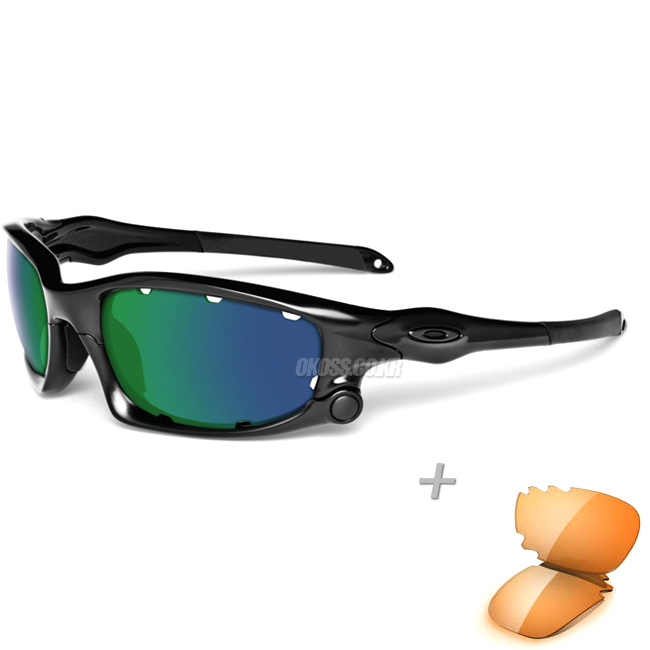 오클리 선글라스 스플릿자켓+보너스자켓 OO9099-14 _ OAKLEY SPLIT JACKET POLISHED BLK/JADE IRIDIUM&PERSIMMON