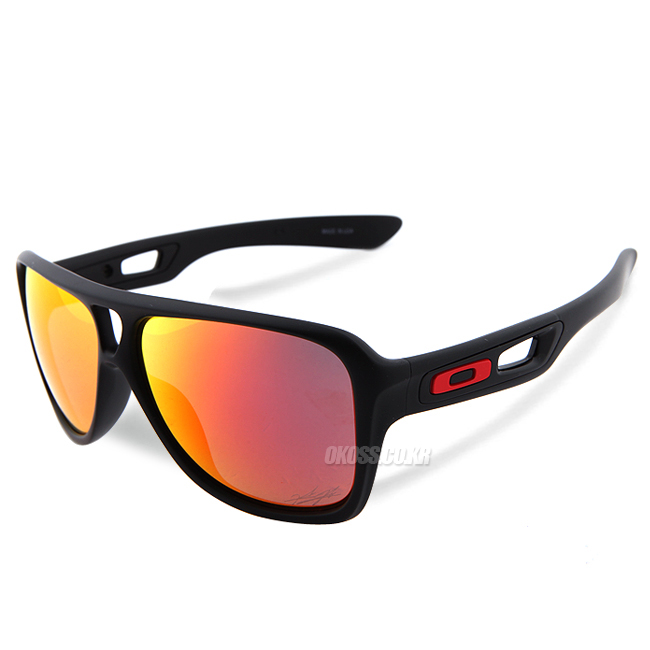 오클리 선글라스 디스패치2 니키 헤이든 에디션 OO9150-13 OAKLEY DISPATCH II NICKY HAYDEN EDITION MATTE BLK/RUBY IRIDIUM