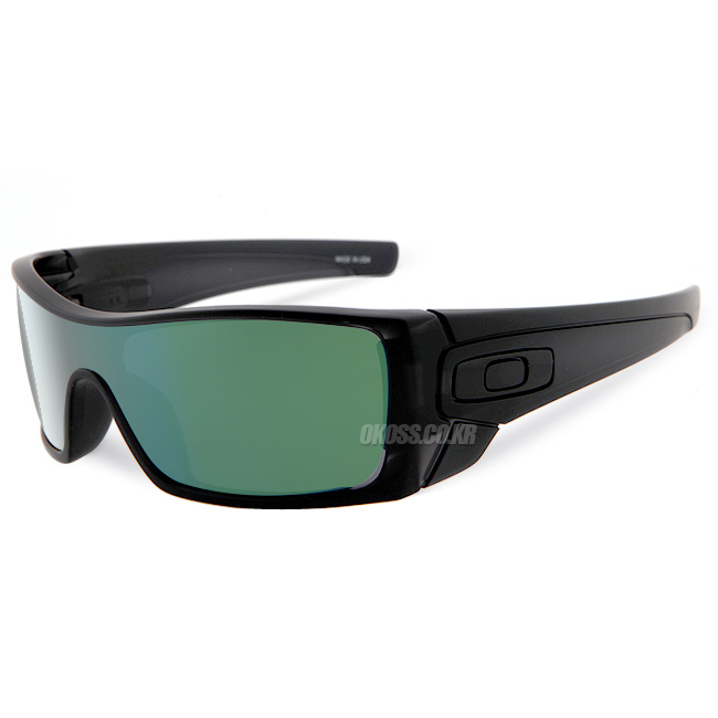 오클리 선글라스 배트울프 OO9101-37 OAKLEY BATWOLF MATTE BLK INK/EMERALD IRIDIUM