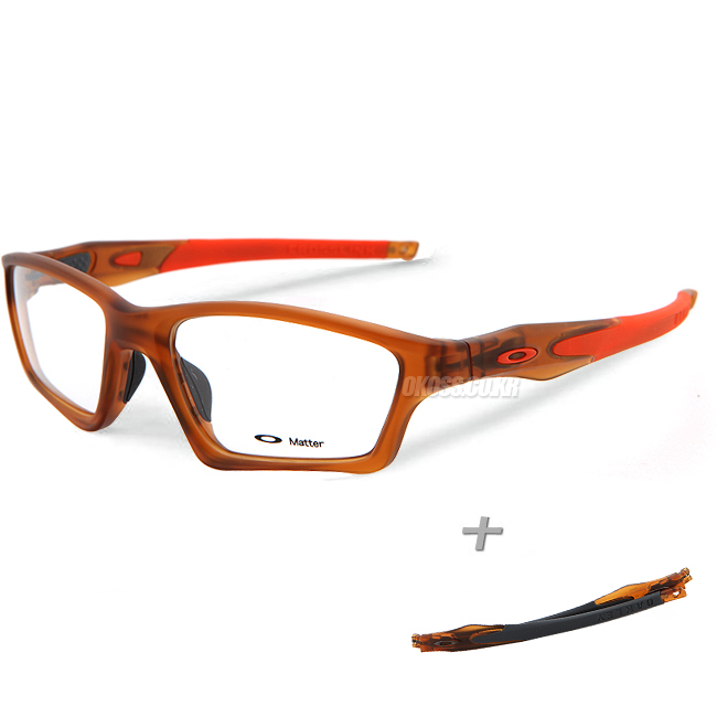 오클리 선글라스 크로스링크 스왑 OX8031-0355 OAKLEY CROSSLINK SWEEP ROOTBEER/TEAM ORANGE