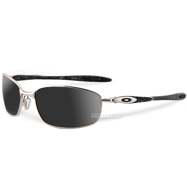 오클리 선글라스 블랜더 OO4059-02 OAKLEY OAKLEY BLENDER CHROME/SILVER GHOST TEXT/BLK IRIDIUM