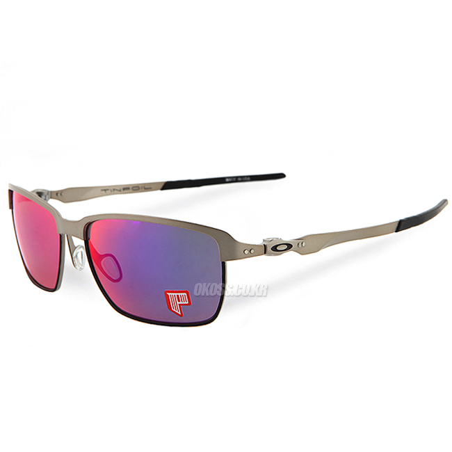 오클리 선글라스 틴포일 편광 OO4083-08 OAKLEY POLARIZED TINFOIL LIGHT/POSITIVE RED IRIDIUM POLARIZED