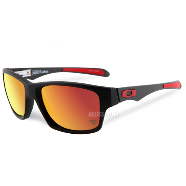 오클리 선글라스 쥬피터 카본 페라리 스페셜 편광렌즈 OO9220-06 OAKLEY SPECIAL EDITION FERRARI POLARIZED JUPITER CARBON MATTE CARBON/RUBY IRIDIUM POLARIZED
