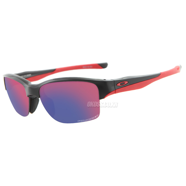 오클리 선글라스 하프링크 아시안핏 편광렌즈 OO9251-06 OO9251-06 OAKLEY ASIAN POLARIZED HALFLINK POLISHED BLK/OO RED IRIDIUM POLARIZED