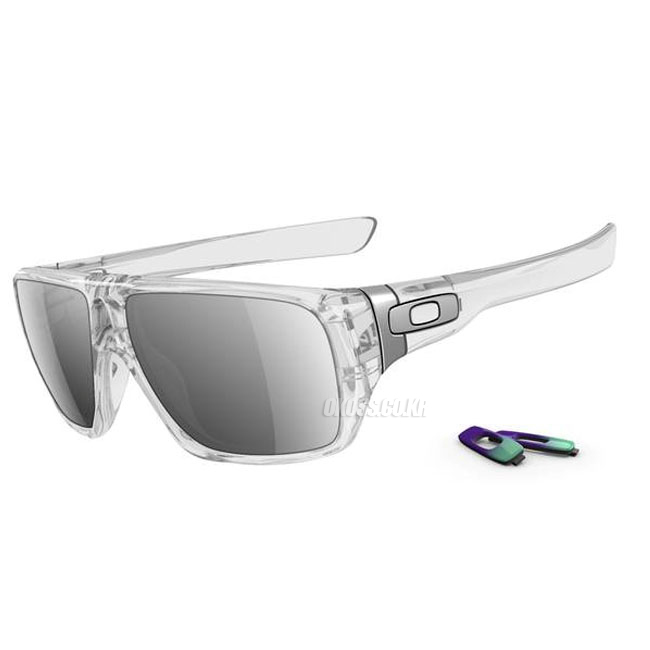 오클리 선글라스 디스패치 투명태 OO9090-05 OAKLEY DISPATCH POLISHED CLEAR/CHROME IRIDIUM